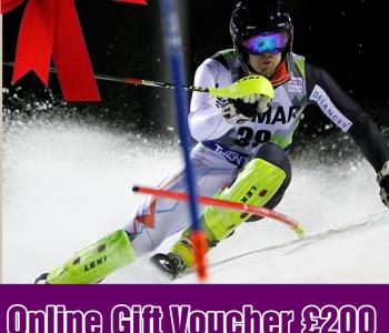Ski Racing Gift Vouchers
