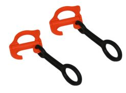 Brake Retainer Bands Folding with Ring (per pair)