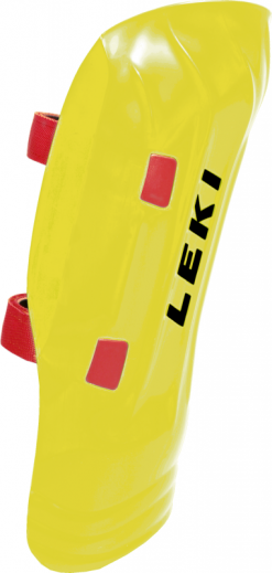 Leki Shin Guard World Cup Junior Pro (Neon)