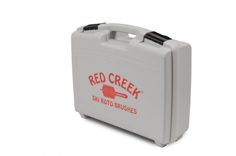 Red Creek Roto Brush Plastic Case - 100mm