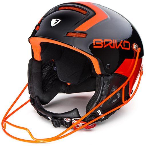 Briko Slalom Black/Orange Fluoro