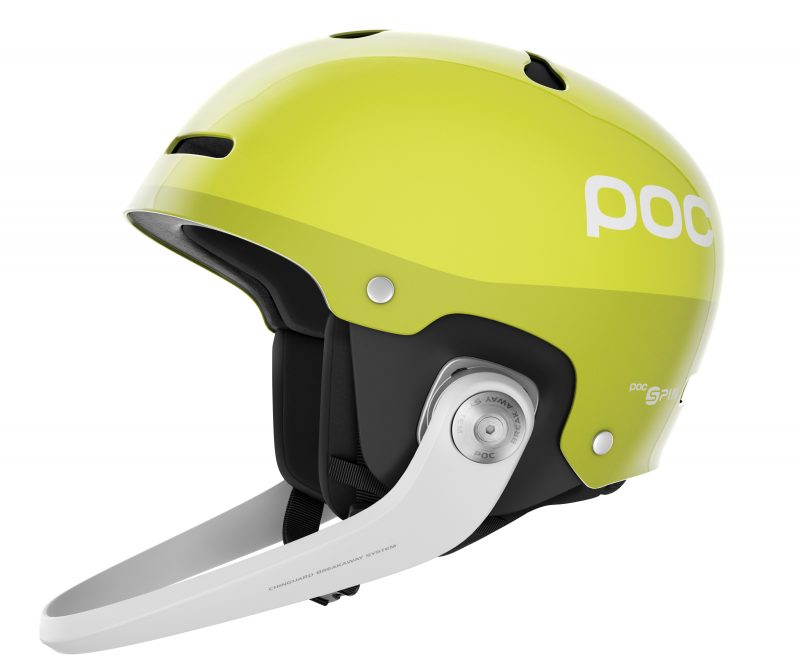 POC Artic SL SPIN - Hexane Yellow - Ski Racing Supplies 447644a8a