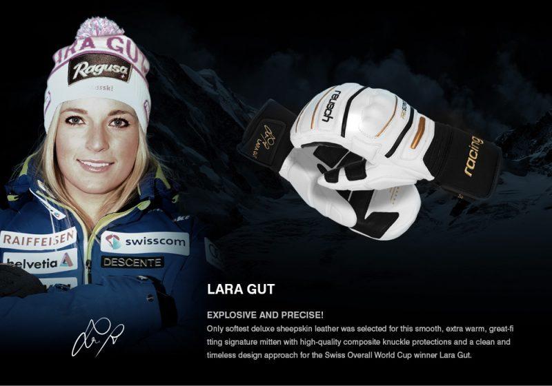 Reusch Pro Signature Series Lara Gut Mitten