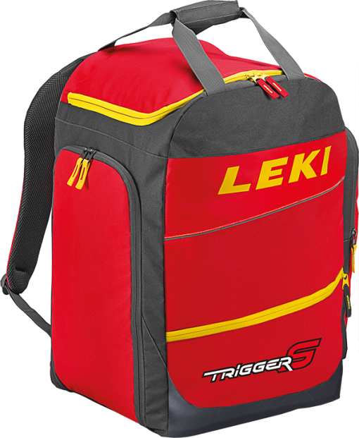 Leki Ski Boot Bag Red