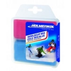 Holmenkol World Cup Mix COLD  RED - BLUE