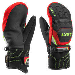Leki WC Race Coach Flex S GTX Junior Red Mitten