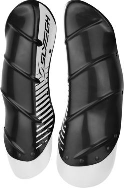 Slytech Shin Guard Shield Carbon XTD Charcoal/White