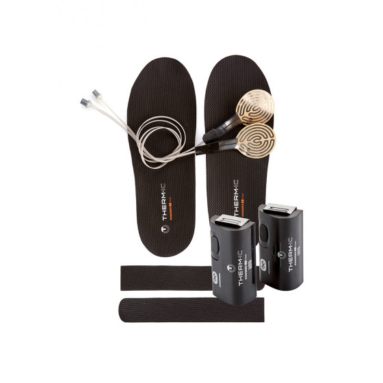 Insole (pair) Flat Heat Therm ic w Flat Heater Stiefel