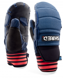 Shred Ski Race Protective Mittens Mini