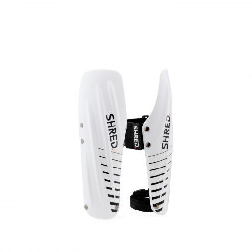 Shred Arm Guards White/Black Medium