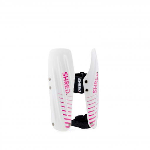 Shred Arm Guards White/Pink Small