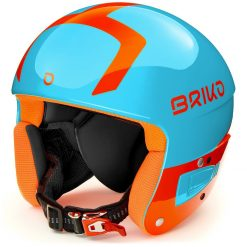 Briko Vulcano FIS 6.8 Jr Sky Blue Orange Fluo