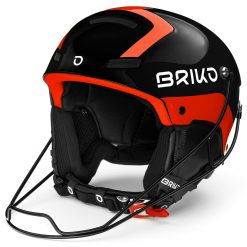 Briko Slalom Shiny Black Orange Fluo