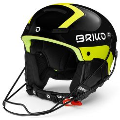 Briko Slalom Shiny Black Yellow Fluo