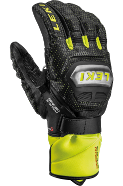 Leki WC Titanium S Speed System Glove - Black Ice Lemon